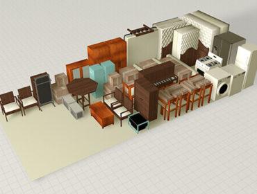 Склад для хранения товаров и вещей 30 квадратных метров