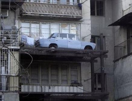 Хранение авто на балконе